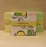 Lemon Myrtle Olive Oil Soap